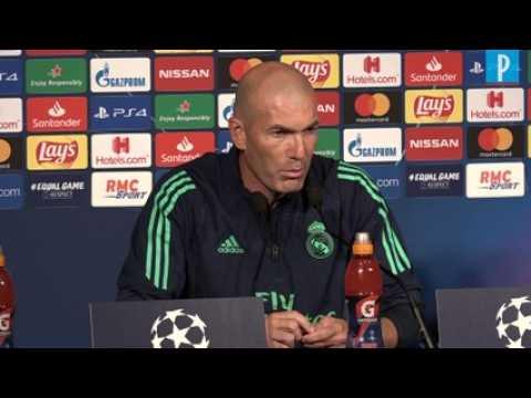 PSG - Real. Zidane : « On peut faire mieux et on va faire mieux »