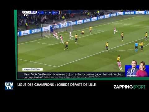 Zap sport du 18 septembre - LDC : Lourde défaite de Lille (vidéo)