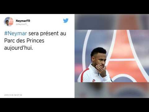 Ligue des champions : PSG - Real Madrid?: Neymar présent au Parc des Princes