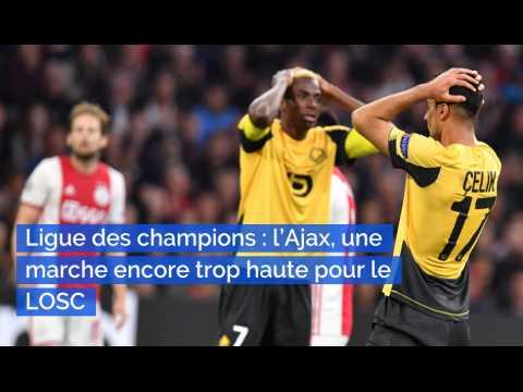 Ligue des champions : l'Ajax, une marche encore trop haute pour le LOSC
