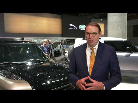 Jaguar Land Rover at 2019 IAA - Hanno Kirner, Executive Director, Corporate & Strategy, Jaguar Land Rover