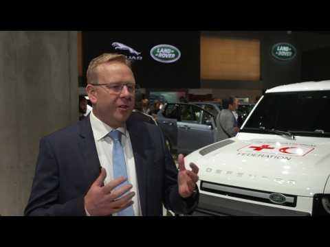 Jaguar Land Rover at 2019 IAA - Nick Collins, Vehicle Line Director, Jaguar Land Rover