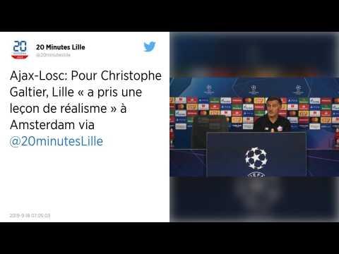 Ligue des champions. Christophe Galtier juge le retour de Lille sur la scène européenne