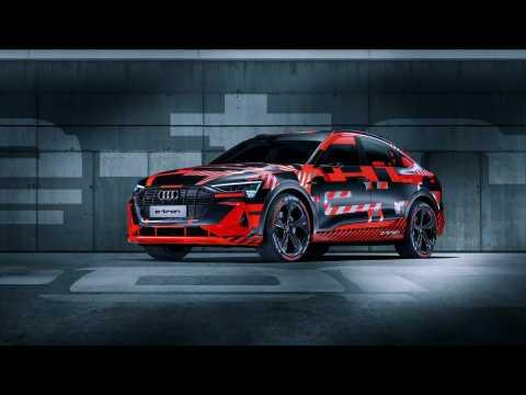 Audi e-tron Sportback Premiere at 2019 IAA