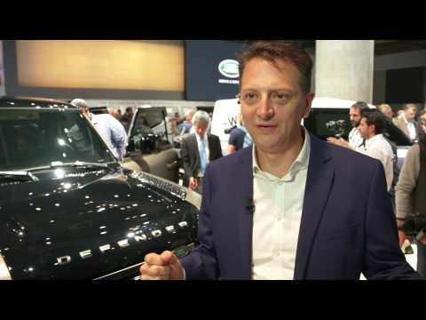 Jaguar Land Rover at 2019 IAA - Nick Rogers, Director, Product Engineering, Jaguar Land Rover