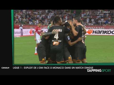 Zap Sport du 16 Septembre 2019 : Exploit de l'OM face à Monaco !