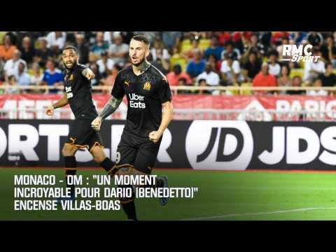 "Monaco - OM : ""Un moment incroyable pour Dario (Benedetto)"" encense Villas-Boas"