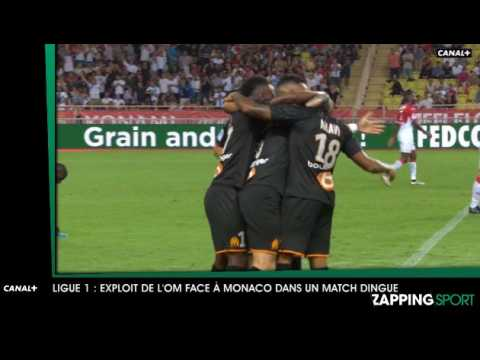 Zap sport du 16 septembre : l'OM s'impose face à Monaco (vidéo)