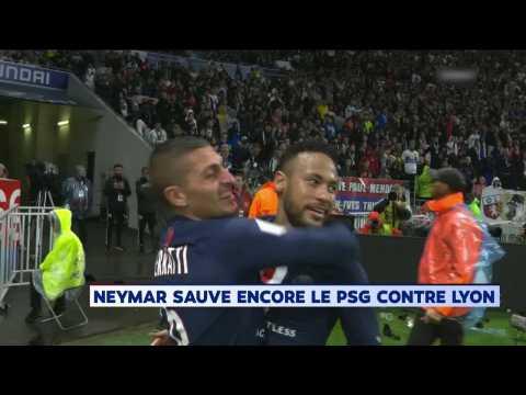 Le PSG l'emporte à Lyon (0-1) grâce à un nouveau de Neymar