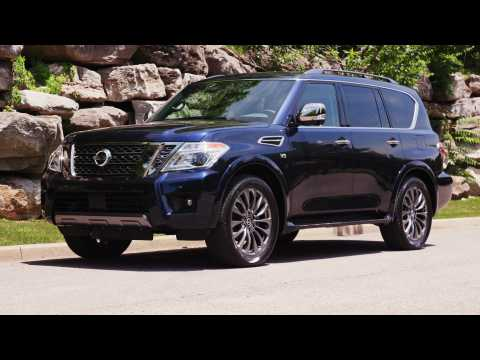 2020 Nissan Armada Design Preview