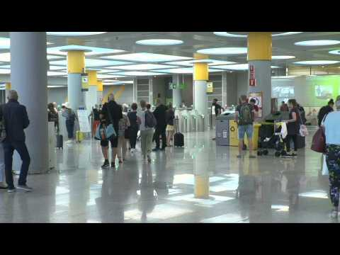 Thomas Cook passengers at Palma airport face an uncertain wait