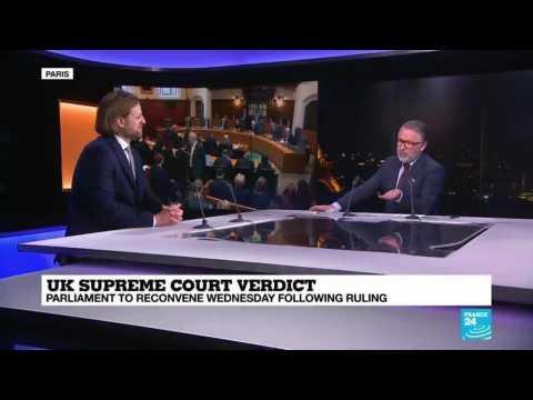 UK Supreme Court overrules Boris Johnson's suspension of Parliament - Duncan Fairgrieve analyses
