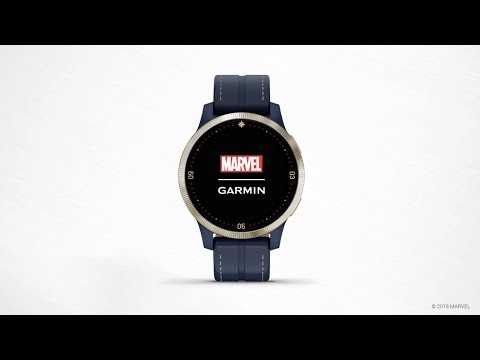 Garmin Legacy Hero Series Captain Marvel: Get to Know Your Watch