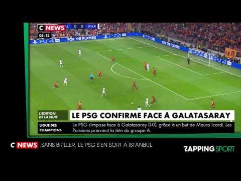 Zap Sport du 2 Octobre : Le PSG s'offre une victoire à Galatasaray