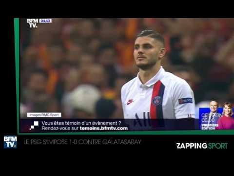 Zap sport du 2 octobre : Le PSG s'impose 1-0 contre Galatasaray (vidéo)