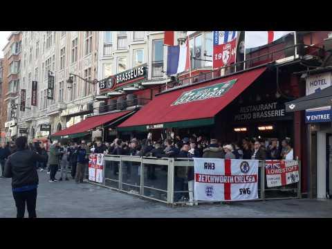 Ambiance d'avant-match aux 3 Brasseurs à Lille