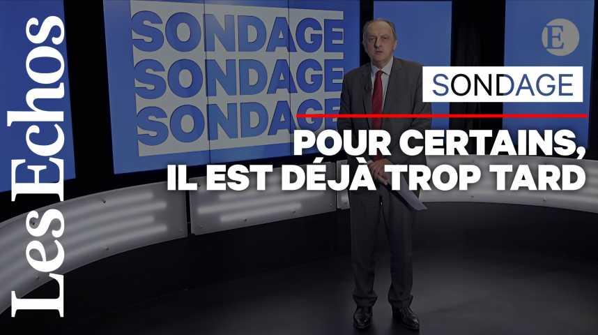 Illustration pour la vidéo Près de 6 Français sur 10 estiment qu'il n'est pas trop tard pour limiter le réchauffement climatique