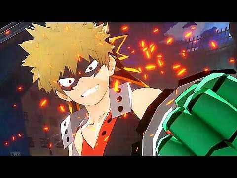 MY HERO ONE'S JUSTICE 2 Gameplay Trailer (2020) PS4 / Xbox One / PC
