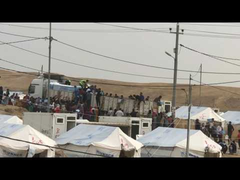 Iraq opens 2nd camp to cope with Syrian Kurd influx