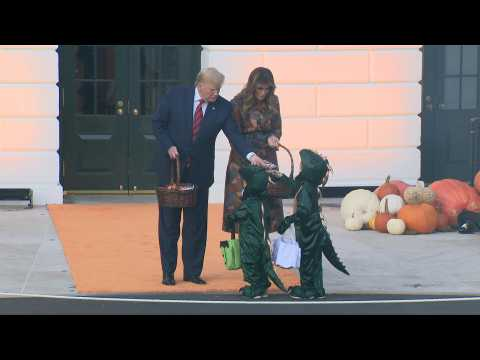 Donald Trump and First Lady host Halloween celebration at White House