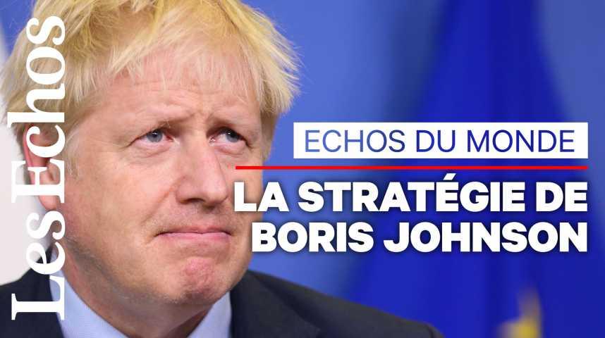 Illustration pour la vidéo Brexit reporté, élections anticipées... Quelle est la stratégie de Boris Johnson ?