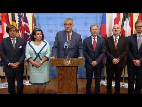 Europeans on UN Security Council demand Turkey halt Syria offensive