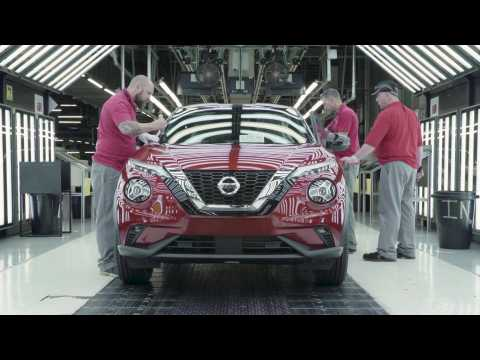 Production begins for the new Nissan Juke