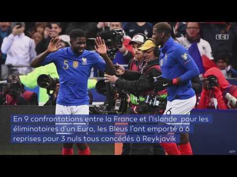 Islande-France : le match de qualification pour l'Euro 2020 en chiffres