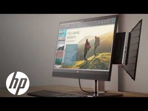 HP Mini-in-One 24 Display Animated Video | Displays & Accessories | HP
