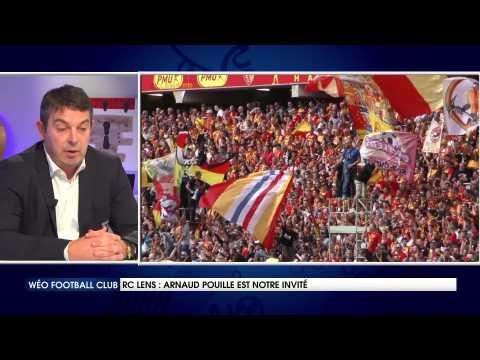 Arnaud Pouille, directeur général du RC Lens est notre invité