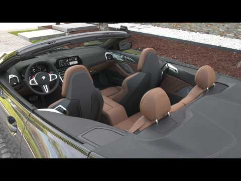 The new BMW M8 Competition Convertible Interior Design