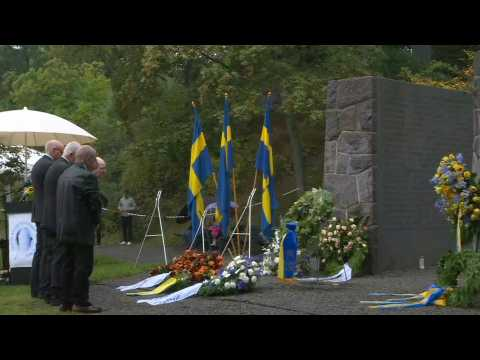 Memorial ceremony for victims of the Estonia sinking 25 years ago