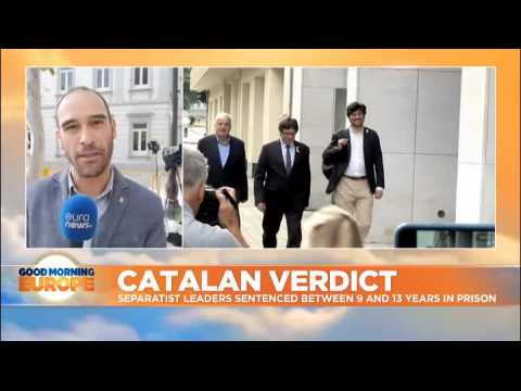 Catalan separatist leaders given 9 to 13 years in prison for sedition over 2017 independence bid