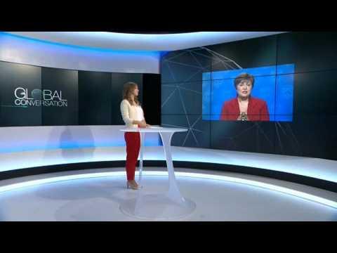 Global economy is going through a 'synchronised slowdown', says IMF's new chief Kristalina Georgieva