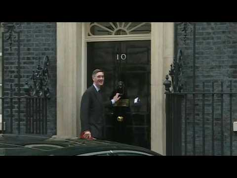 British ministers arrive for cabinet meeting on eve of key summit