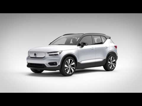Volvo XC40 Recharge Battery Package Animation