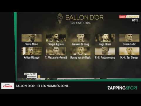 VIDEO: Zap sport du 22 octobre 2019 : Les prétendants au Ballon d'or sont connus