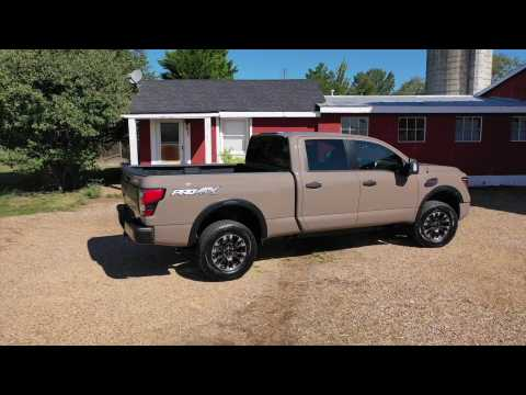 2020 Nissan TITAN XD PRO-4X Preview