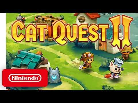Cat Quest II - Launch Trailer - Nintendo Switch