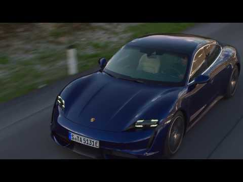 The new Porsche Taycan Turbo Driving Video