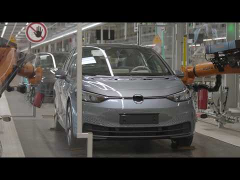 IAA 2019 Making Of Volkswagen ID.3 - Plant Zwickau