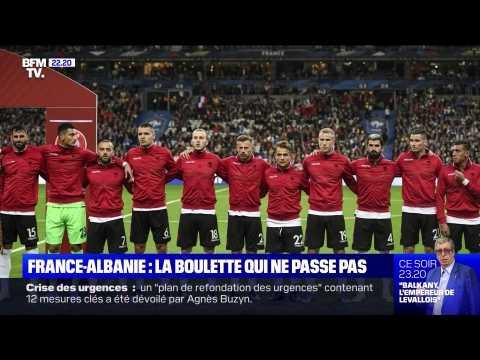 France-Albanie: la boulette qui ne passe pas - 09/09