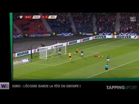 Zap sport du 10 septembre - Euro : La Belgique garde la tête du groupe I (vidéo)