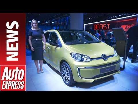 New 2020 Volkswagen e-up! - tiny electric city car gets big tech upgrade
