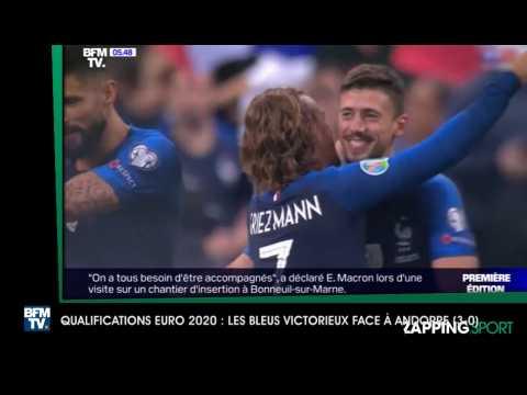 ZAP SPORT 110919 LES BLEUS VICTORIEUX FACE A ANDORRE