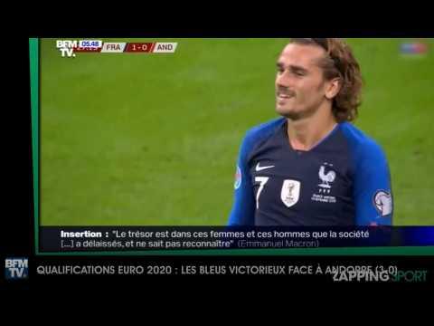 Zap sport du 11 septembre - Euro 2020 : Les Bleus victorieux contre l'Andorre (vidéo)