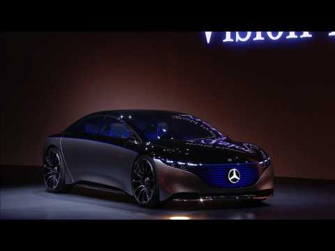 Mercedes-Benz Cars and Vans at the IAA 2019 - Speech Ola Källenius - Part 2 and World Premiere VISION EQS