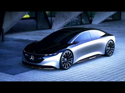 Mercedes-Benz VISION EQS - Snackvideo