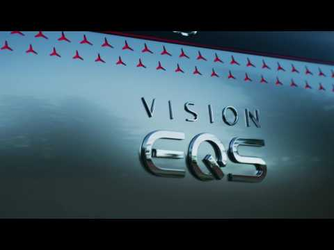 Mercedes-Benz VISION EQS - Teaser