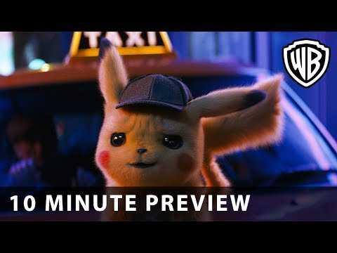 POKÉMON Detective Pikachu - First 10 Minutes - Warner Bros. UK